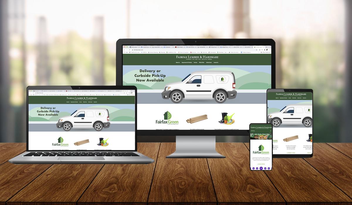 custom-wordpress-website-design-fairfax-lumber-and-hardware-golden-shores-communications-brand-agency